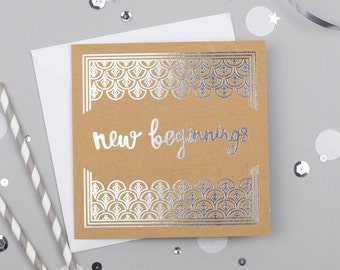 New Beginnings Card