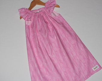 Seaside Dress Feathers Size 7