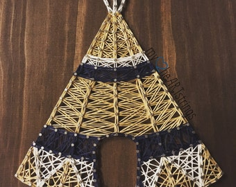 Teepee string art- made to order