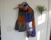 Indian Kantha Scarf / SALE / - by Breathe-Again