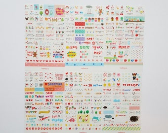 Stickers kawaii journal planner