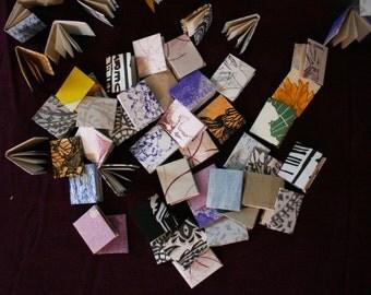 Mini Book Magnets, Set of 7