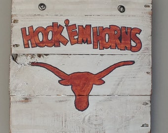 Longhorn sign Etsy