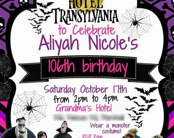 Hotel Transylvania Invite