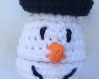Snowman Christmas Buddy Crochet Pattern