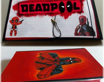 Game handmade notebook (DeadPool/BloodBorne/Dying_Light/Spyro)