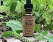 Fresh Tulsi Tincture - Ayurvedic herbal plant extract