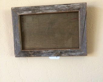 "4"" x 6"" Reclaimed Barnwood Picture Frame"