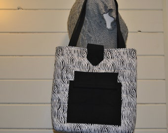 Shoulder Bag, Purse, Zebra Print