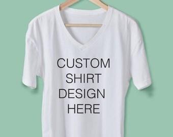 Custom personalized tshirt