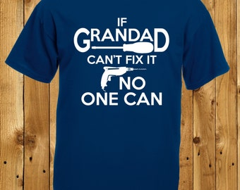 Grandad Can Fix It, Father's Day Present, Funny Dad Gift, Gifts For Men, Gift For Grandad, Best Grandad, Grandad Birthday