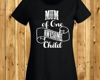 Mothers Day Gift, Mum Birthday Present, Mum Of Awesome Children, Mummy Of Awesome Child, Mummy Gift, New Mum, Baby Shower, Mothering Sunday