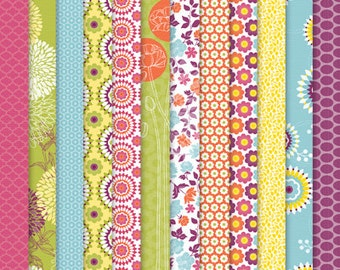 """Floral District DSP Paper Share 6"""" x 6"""""""