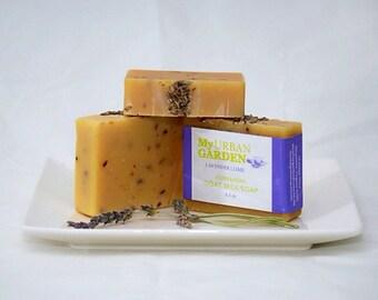 Goat Milk Soap - Lavender Soap - Lime Soap - Lavender Lime Soap - Lavender Goat Milk Soap - Lime Goat Milk Soap - Lavender Wedding Favors