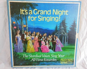 Album Set - Readers Digest It's a Grand Night for Singing - 8 Albums - Excellent Condition