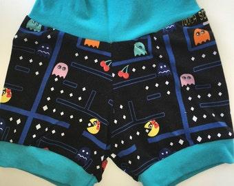 Pacman kids shorts - 2T