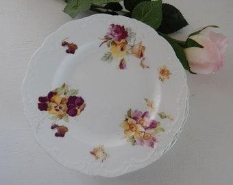 Bishop & Stonier (Bisto) Six Antique Tea plates very pretty