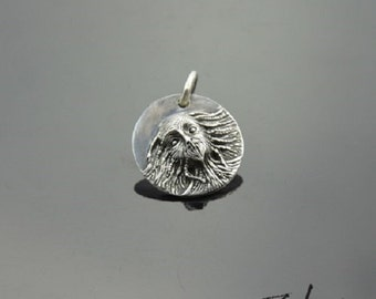 Pendant Witch Silver