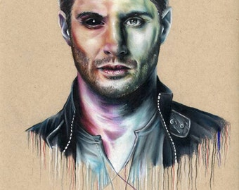 Dean Winchester from Supernatural original drawing