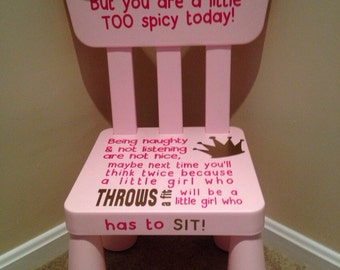Boys and Girls Time Out Chairs