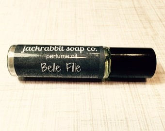 Belle Fille Perfume Oil, Floral Perfume, Roll On Perfume, Sweet Perfume Oil, Women's Perfume, Vegan Perfume, Summer Perfume Wedding