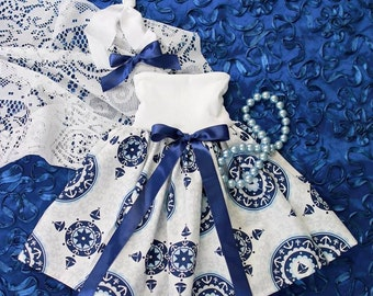 Mommy Miss Lily Dress Photo Prop Sailor Girl