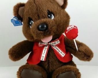 Tootsie Roll Bear Plush
