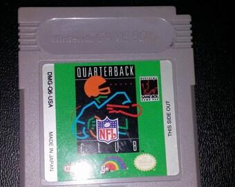 NFL Quarterback Club Gameboy