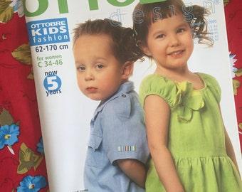 Ottobre Design Sewing Pattern Magazine SUMMER issue 2/2005