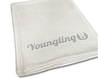 Youngling Jedi Star Wars Baby Blanket
