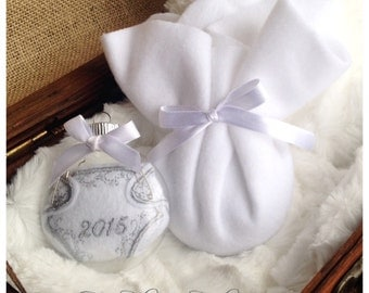 Baby's first Christmas gift - baby First Christmas ornament - custom date ornament - baby boy ornament - baby girl ornament - gender neutral