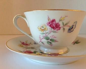 Vintage Nortiake Teacup/Saucer