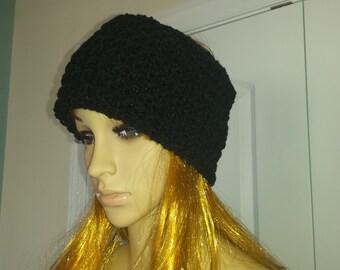 Crochet Headband Ear Warmer Turban Custom Sizes Available Many Colors Available