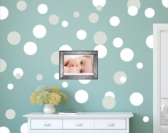 Dots Decals Polka Dots WAll Decals, Large Peel And Stick Dots Bedroom Polka  Dot Wall Part 55