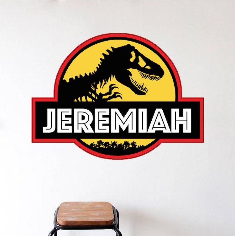 Jurassic park decal jurassic park wall design for Best 20 jurassic park wall decal