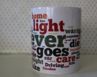 The Smiths Morrissey there Is A Light that Never Goes Out Tea/Coffee Mug