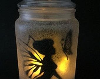 Fairy in a Jar Night Light- Alice