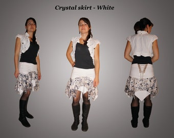Crystal skirt - White