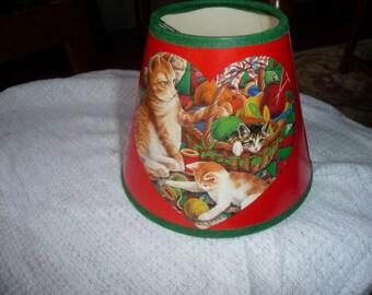 Small Cat Lamp Shade