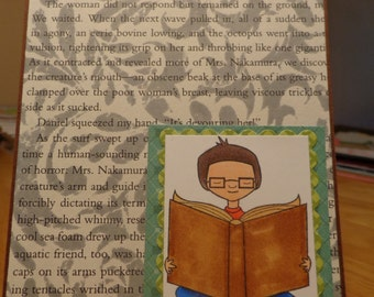 Book lovers card