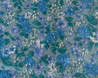 Vintage Cotton Fabric, 35 Inches Wide, sold by the Half Yard