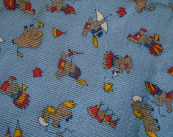 Vintage Corduroy Fabric, for boys