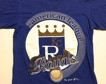 M Kansas City Royals The Game T Shirt 1994 American League MLB Baseball Made in the USA
