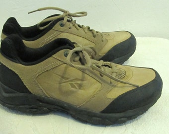 Marked Down 20%@@Vintage 90's,Rugged Tan SUEDE All Terrain Type Shoes by REEBOK.9