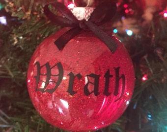 Black Dagger Brotherhood Ornament