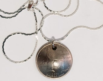 NEW ITEM *** US Quarter Charms with a Free Chain