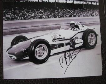 A J Foyt signed photo