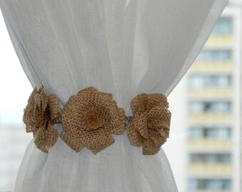 Curtain tie back Etsy