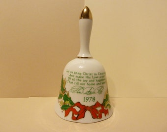 Christmas Bell by: Helen Steiner Rice