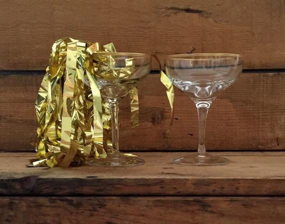 Vintage lenox champagne glasses gold rimmed champagne - Lenox gold rimmed wine glasses ...
